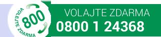 Volajte zdarma - 800 1 24368