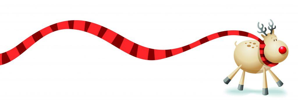 Rudolf in a scarf