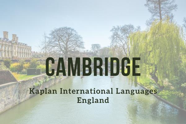 Kurz angličtiny – Cambridge