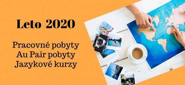 Práca v zahraničí leto 2020